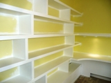 wall to wall shelving