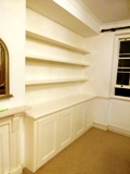 Langdon-Hills fitted MDF floating shelves