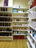 Painted Shop Shelving